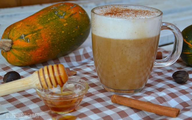 Café latte de calabaza y especias 1
