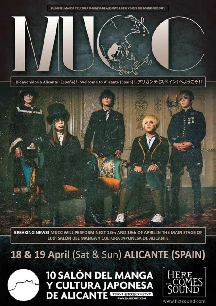 MUCC - Salón del Manga y la Cultura Japonesa de Alicante 2020