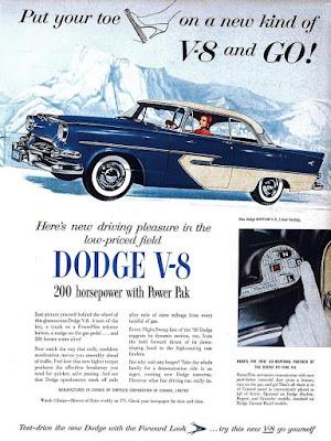 Dodge V-8 Powerflyte