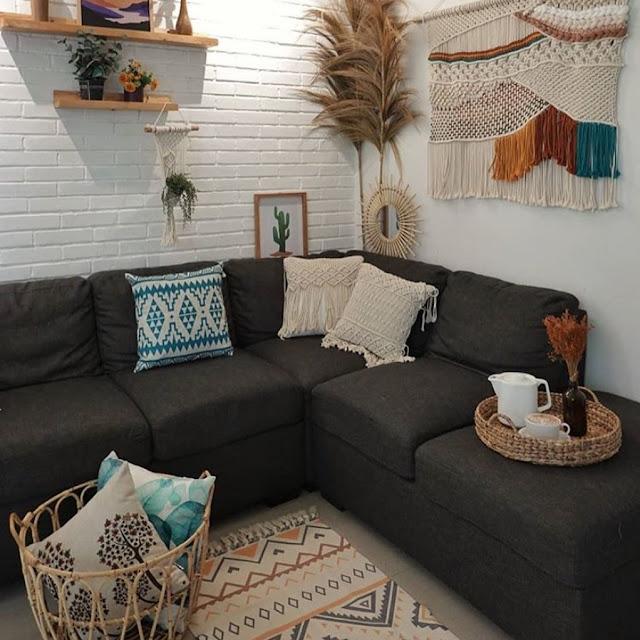 Model Sofa Minimalis Bentuk L untuk Ruang Tamu Kecil
