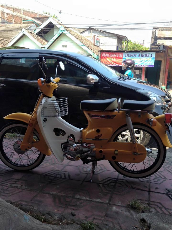 Honda C70 Kuning Manis Menarik JOGJA LAPAK MOBIL DAN