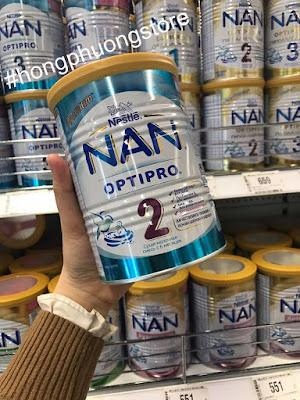 Mua sữa NAN Nga cho bé chính hãng tại cửa hàng ở Nga