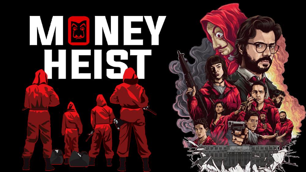Money Heist Season 5 Dual Audio [Hindi-DD5.1] 720p HDRip