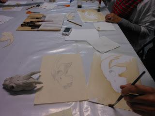 Arte Encuentro, la sesión experimental