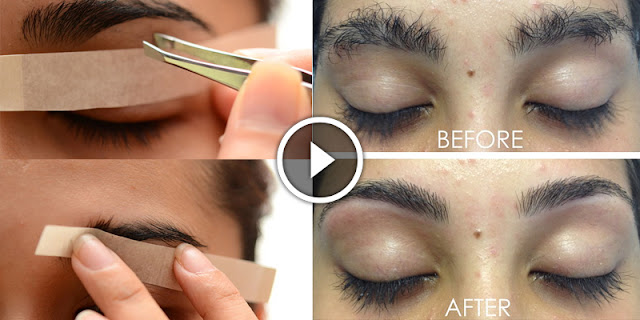 How To Use Thread To Shape Your Eyebrows In Less Than 5 Minutes