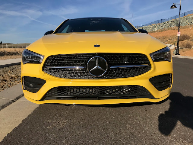 Front view of 2020 Mercedes-Benz CLA250 4MATIC