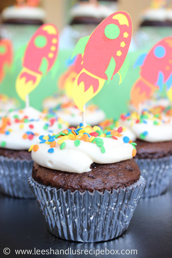 Doctored Devil S Food Cake Mix Cupcakes
