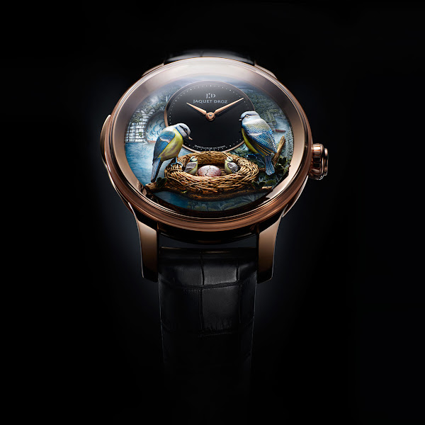 Jaquet Droz - The Bird Repeater Watch front