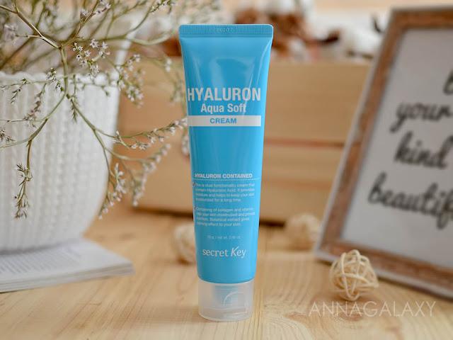 Отзыв на Крем гиалуроновый для увлажнения и омоложения Secret Key Hyaluron Aqua Soft Cream