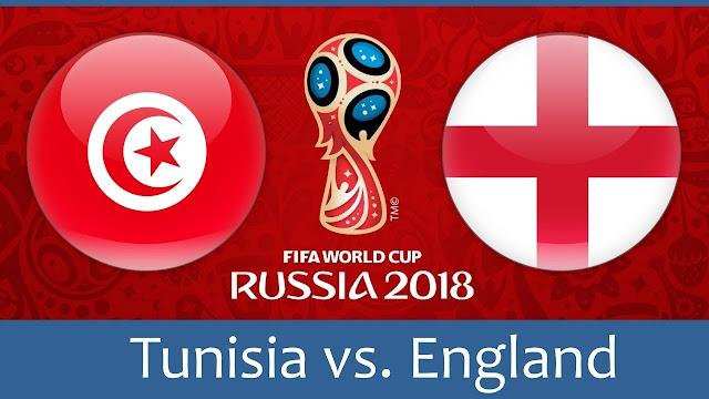 موعد مباراة تونس و إنجلترا في كأس العالم روسيا 2018 والقنوات الناقلة لها