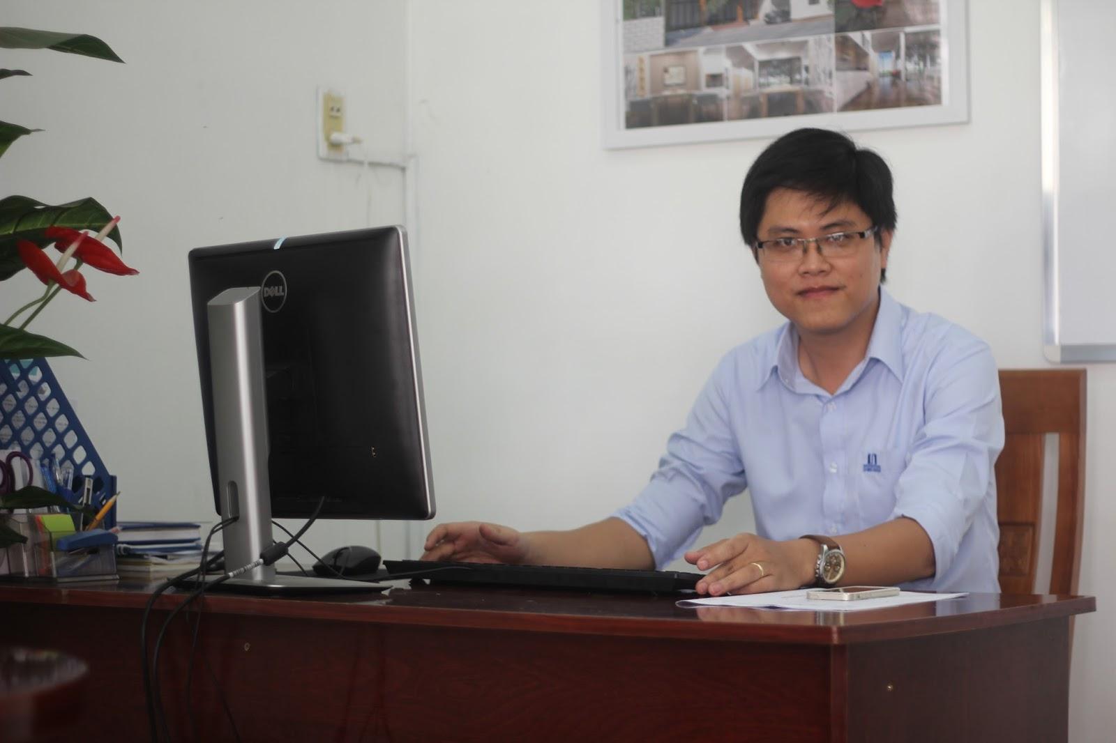 Kiến trúc sư Nguyễn Ngọc Vương giám dốc dự án