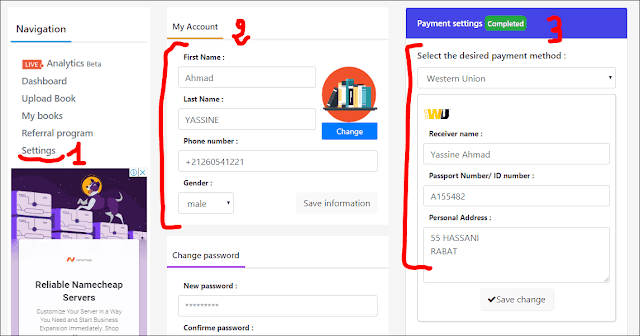 payment method in brry