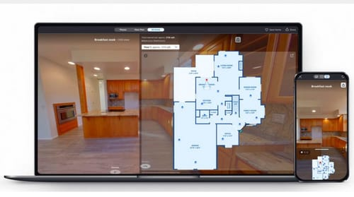 3D Home uses artificial intelligence to estimate the size of the house