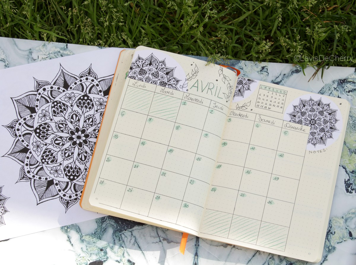 bullet-journal-mandala-avril-2020