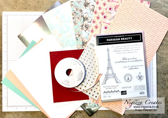 Nigezza Creates with Stampin' Up! and Parisian Beauty