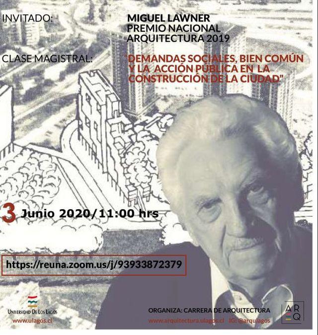 Premio Nacional de Arquitectura inaugurará Año Académico 2020 de la ULagos