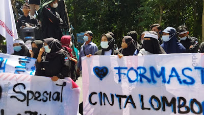 Formastim Beri Kejutan di HUT Lombok Timur ke 126