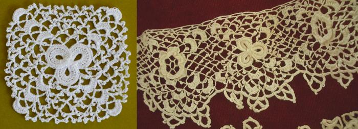 Irish Crochet Together: Definition