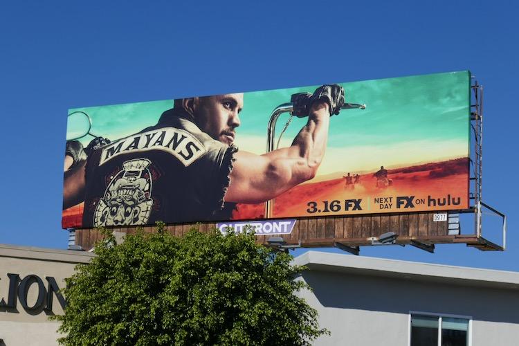Mayans MC season 3 billboard