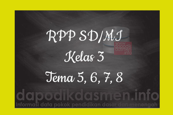 RPP Tematik SD/MI Kelas 3 Tema 5 Subtema 1 2 3 4 Semester 2, Download RPP Kelas 3 Tema 5 Subtema 1 2 3 4 Kurikulum 2013 SD/MI Revisi Terbaru, RPP Silabus Tematik Kelas 3