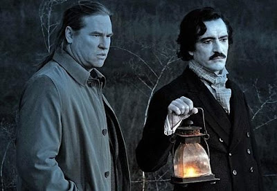 Val Kimer as Hall Baltimore and Ben Chaplin as Edgar Allan Poe in Twixt (2011), Directed by Francis Ford Coppola