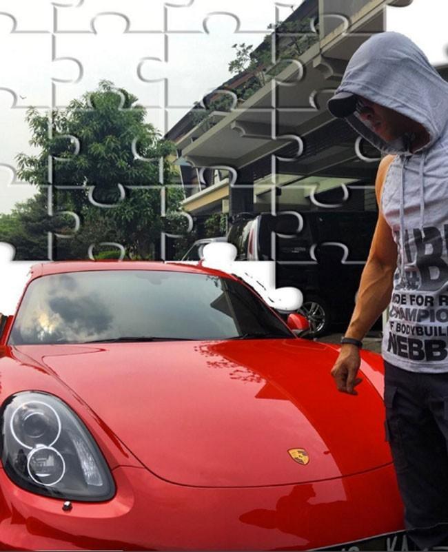Deddy Corbuzier - Porsche Cayman