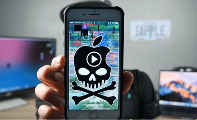 video crashing iphone
