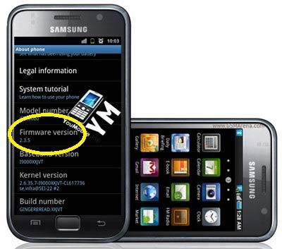 Downlaod android 2.3.5 firmware for samsung galaxy s