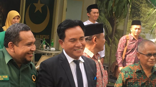 Yusril: Kalau Pak Prabowo Tidak Jadi Mencalonkan Diri Mungkin Tidak Ada Poros Ketiga