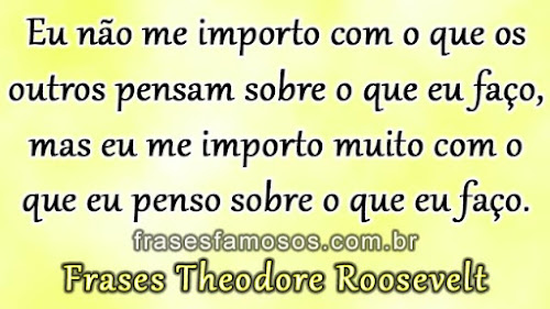 Frases Theodore Roosevelt