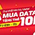 Nhận lại 10.000đ khi đăng ký gói data của Viettel