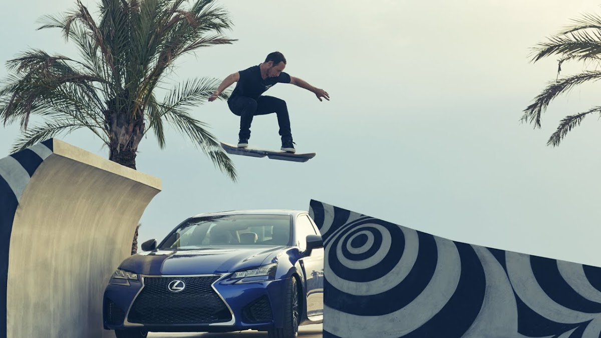 The Lexus Hoverboard is really Here