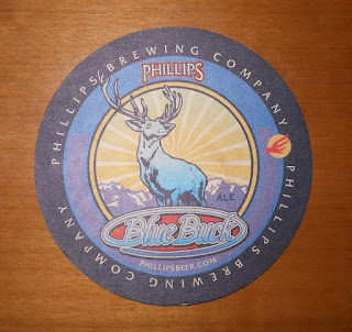 Phillips Brewing Company coaster