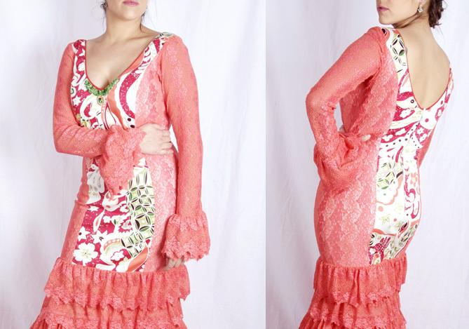 Traje de Flamenca del patrón Adara