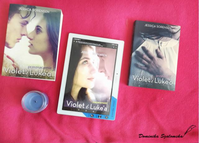 """#189 [PRZEDPREMIEROWO] Recenzja książki """"Niepewność Violet i Luke'a"""" Jessica Sorensen - Patronat medialny"""