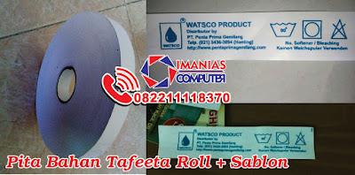 Imanias Media Cetak Pita + Sablon