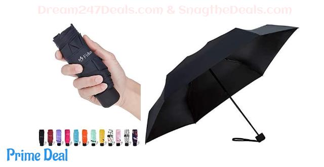 50% off Mini Compact Sun&Rain Travel Umbrella