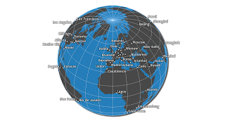 Globe projections and insets in QGIS