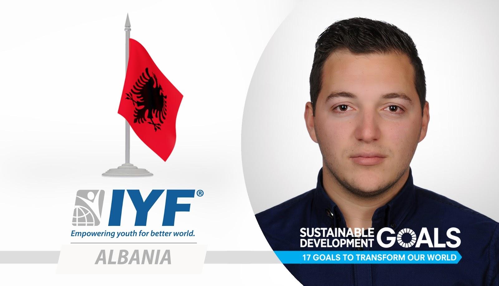 Marilo Meta, IYF Representative in Albania