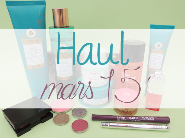 revue avis test haul maquillage