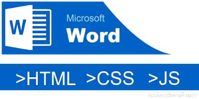 Trik Membuat Tabel HTML Dengan Microsoft Word