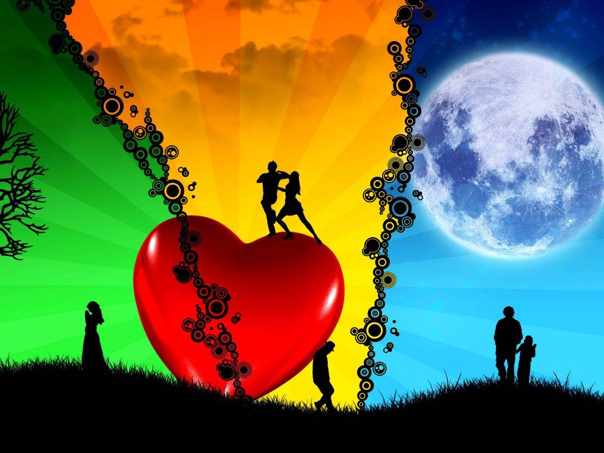 romantic love backgrounds - photo #32