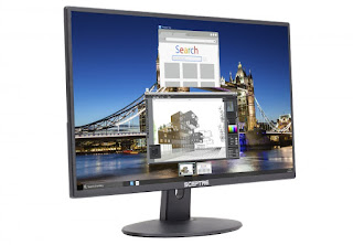 "Sceptre E205W-16003R 20"" 75Hz Ultra Thin Frameless LED Monitor"