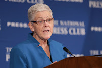 Former Environmental Protection Agency Administrator Gina McCarthy is speaking out against the Trump administration's environmental policies. (Credit: Chip Somodevilla/Getty Images) Click to Enlarge.