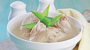 sup sayap ayam kuah wijen