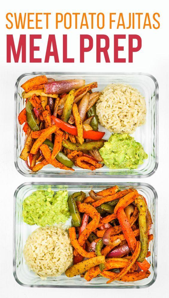 Sweet Potato Fajitas Meal Prep #recipes #dinnerrecipes #dinnermeals #dinnermealstocook #food #foodporn #healthy #yummy #instafood #foodie #delicious #dinner #breakfast #dessert #lunch #vegan #cake #eatclean #homemade #diet #healthyfood #cleaneating #foodstagram