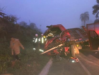 Uma pessoa morre em Coronel Vivida - PR na sexta de manhã em acidente de trânsito na BR-373