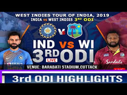 Ind vs WI 3rd ODI highlights 2019, New records of Virat Kohli and Rohit Sharma