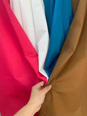 Vải thô nến may váy, đầm( chất vải giống kate silk) 55k/m