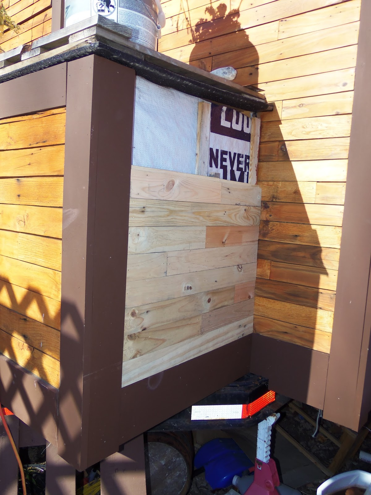 Another Tiny House Story A Closer Look At Pallet Siding